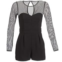 Textil Ženy Overaly / Kalhoty s laclem BCBGeneration CHARLOTTE Černá