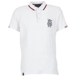 Textil Muži Polo s krátkými rukávy Best Mountain CADLY Bílá