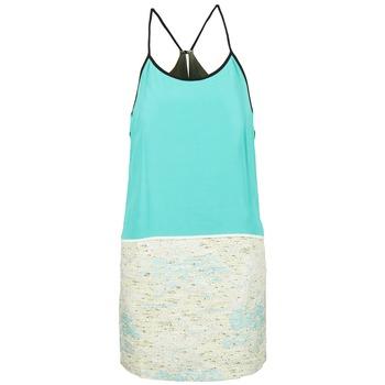 Textil Ženy Krátké šaty See U Soon ELEMAILLE Modrá / Bílá