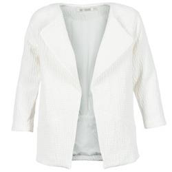 Textil Ženy Kabáty See U Soon DACKA Bílá