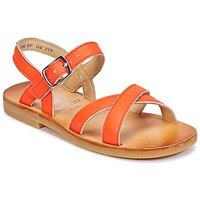 Boty Dívčí Sandály Start Rite NICE II Oranžová
