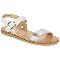 Boty Dívčí Sandály Start Rite FLORA II Růžová / Bílá
