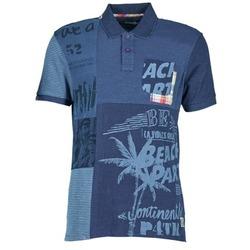 Textil Muži Polo s krátkými rukávy Desigual BELUDINE Modrá