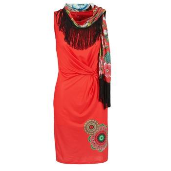 Desigual Krátké šaty USIME - Červená