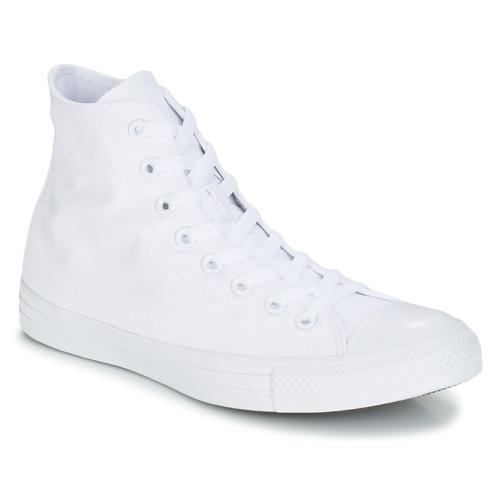 Boty Kotníkové tenisky Converse CHUCK TAYLOR ALL STAR MONO HI Bílá