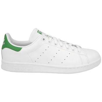 Boty Děti Módní tenisky adidas Originals STAN SMITH J BLANC