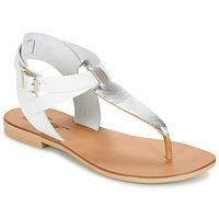Boty Ženy Sandály Betty London VITALLA Stříbřitá / Bílá