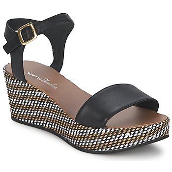 Boty Ženy Sandály Betty London PRETA Černá
