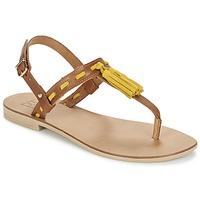 Boty Ženy Sandály Betty London ELOINE Hnědá / Žlutá