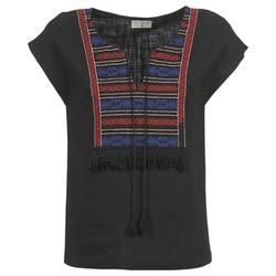 Textil Ženy Halenky / Blůzy Betty London ETROBOLE Černá