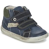 Boty Chlapecké Kotníkové boty Primigi CHRIS Modrá