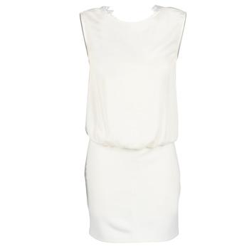 Textil Ženy Krátké šaty Le Temps des Cerises SHEILA Bílá