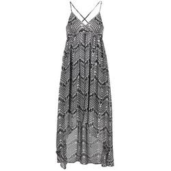 Textil Ženy Společenské šaty Le Temps des Cerises LUNE Černá / Bílá