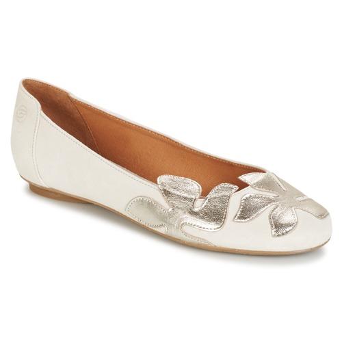 Boty Ženy Baleríny  Betty London ERUNE Bílá / Stříbřitá