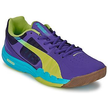 Boty Muži Sálová obuv Puma EVOSPEED INDOOR 3.3 Fialová / Žlutá / Modrá