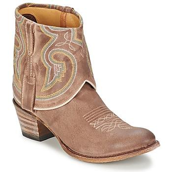 Kotnikove boty Sendra boots 11011 Šedobéžová 350x350