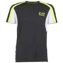 Textil Muži Trička s krátkým rukávem Emporio Armani EA7 VENTUS7 Černá