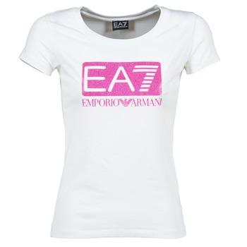 Emporio Armani EA7 Trička s krátkým rukávem BEAKON - Bílá