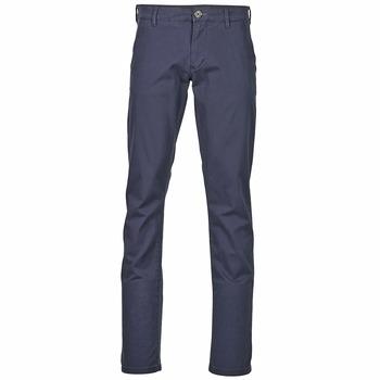 Textil Muži Mrkváče Selected THREE PARIS Tmavě modrá