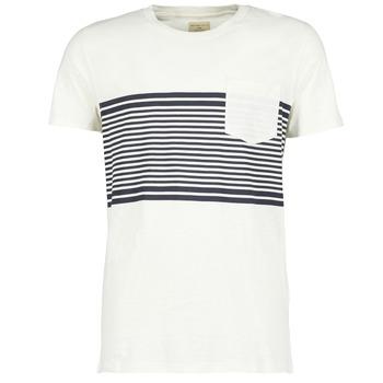 Textil Muži Trička s krátkým rukávem Selected LIAM Bílá