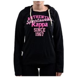 Textil Ženy Mikiny Kappa  Černá