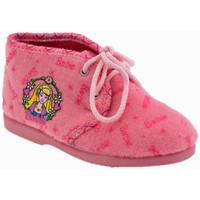 Boty Dívčí Bačkůrky pro miminka Barbie  Růžová