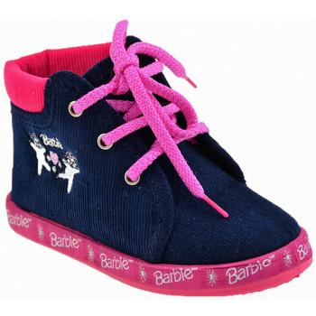 Boty Dívčí Bačkůrky pro miminka Barbie  Modrá