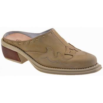 Boty Děti Pantofle La Romagnoli  Béžová