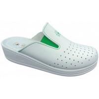 Boty Ženy Pantofle Sanital  Bílá