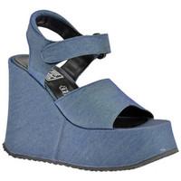 Boty Ženy Sandály No End  Modrá