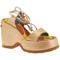 Boty Ženy Sandály No End  Zlatá
