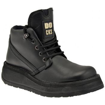 Boty Muži Kotníkové boty Docks  Černá