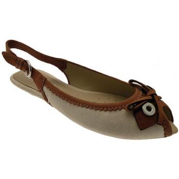 Boty Ženy Sandály Geox  Béžová