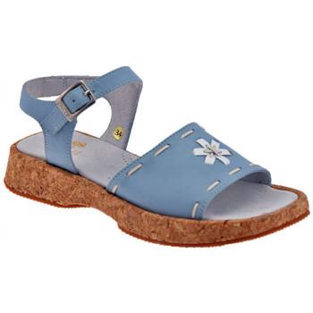 Boty Děti Sandály Chicco  Modrá