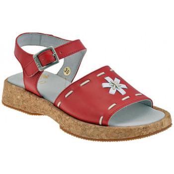 Boty Děti Sandály Chicco  Červená