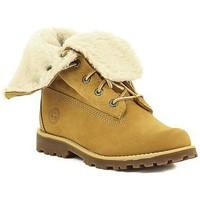 Boty Dívčí Kotníkové boty Timberland C 2236B,A156N Jaune