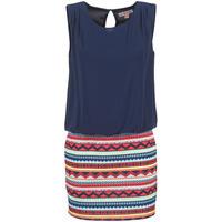 Textil Ženy Krátké šaty Moony Mood IEVELI Tmavě modrá