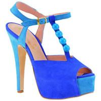 Boty Ženy Lodičky Cuomo  Modrá