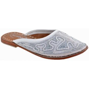 Boty Děti Pantofle Bamboo  Bílá