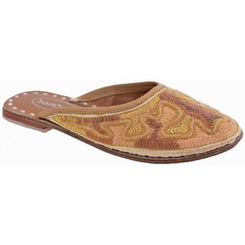 Boty Děti Pantofle Bamboo  Zlatá