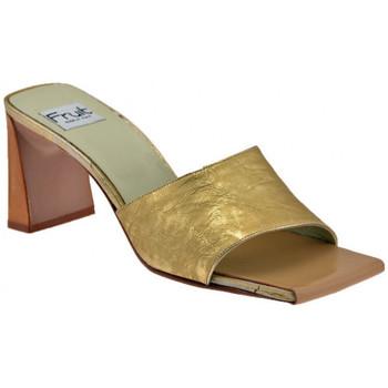 Boty Ženy Dřeváky Now  Zlatá