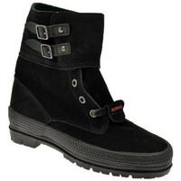 Boty Ženy Kotníkové boty Superga  Černá