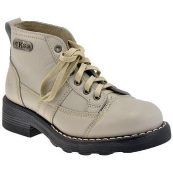 Boty Ženy Kotníkové boty Tks  Bílá