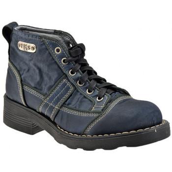 Boty Ženy Kotníkové boty Tks  Modrá
