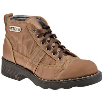 Boty Ženy Kotníkové boty Tks  Béžová