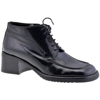 Boty Ženy Šněrovací společenská obuv Dockmasters  Černá