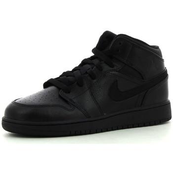 Nike Tenisky Dětské 1 Mid BG - Černá