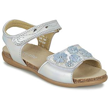 Boty Dívčí Sandály Start Rite SUMMERS DAY Stříbřitá