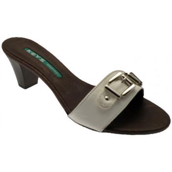 Boty Ženy Dřeváky Keys  Bílá