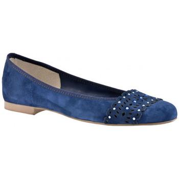 Boty Ženy Baleríny  Keys  Modrá